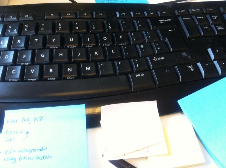 Where I type.