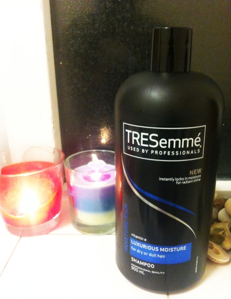 TRESemmé Luxurious Moisture Shampoo. RRP: £4.99. Was on sale for £2.99.